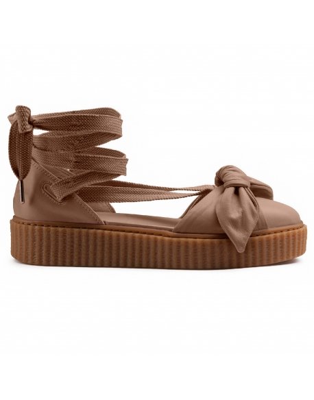 Puma x FENTY BOW CREEPER SANDAL Natural