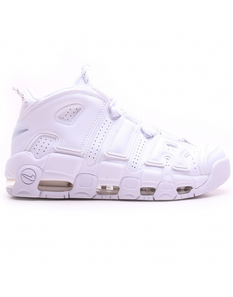 NIKE AIR MORE UPTEMPO'96 SHOE TRIPLE WHITE
