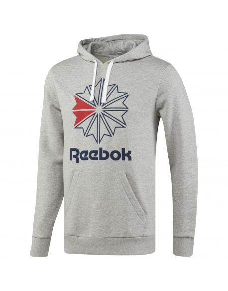 REEBOK F STAR HOODY Grey