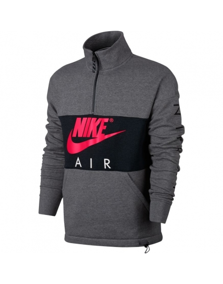NIKE MEN'S AIR TOP CARBON HEATHER