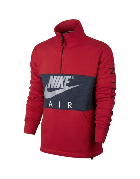NIKE MEN'S AIR TOP UNIVERSITY RED
