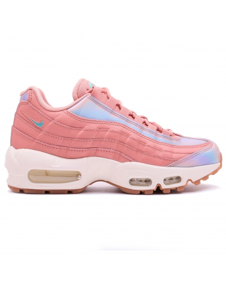 NIKE WOMEN'S AIR MAX 95 SE RED Stardust