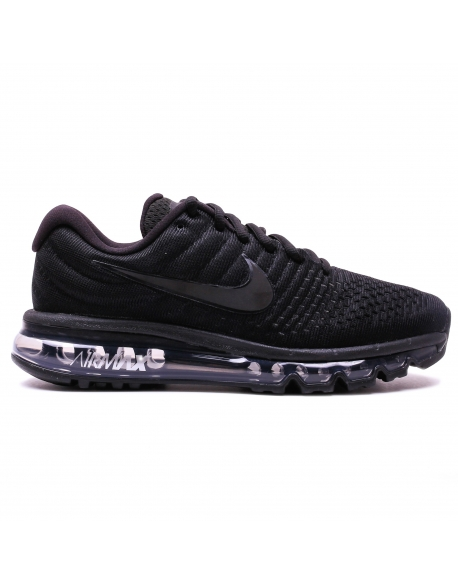 NIKE MEN'S AIR MAX 2017 BLACK