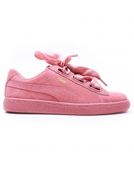 PUMA WNS SUEDE HEART SATIN II Rose