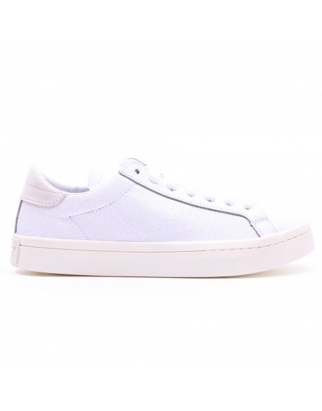 ADIDAS COURTVANTAGE Leather White
