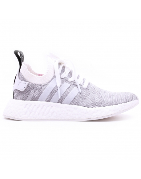 ADIDAS NMD_R2 PK W  WHITE CORE BLACK