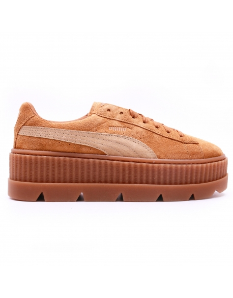 Puma X Fenty Cleated Creeper Suede golden brown