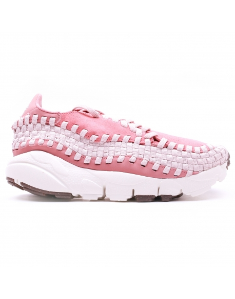 NIKE WOMEN'S AIR FOOTSCAPE WOVEN SHOE RED