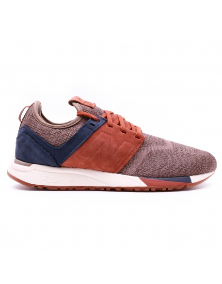 NEW BALANCE MRL247D TEXTILE/CUIR BROWN