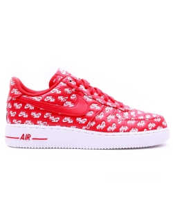 Nike AIR FORCE 1 '07 QS University Red