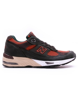 NEW BALANCE M991D LEATHER/MESH/SYNTHETIC GREEN