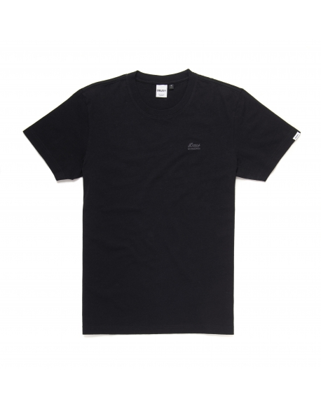 DEUS STANDARD SS EMBROIDERED TEE BLACK