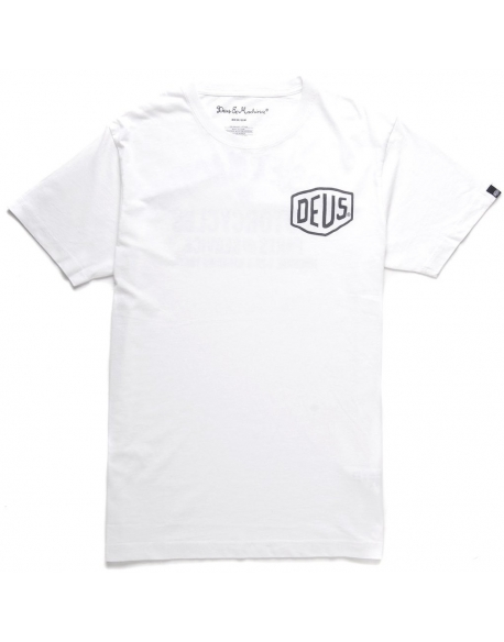 DEUS VENICE ADDRESS TEE WHITE