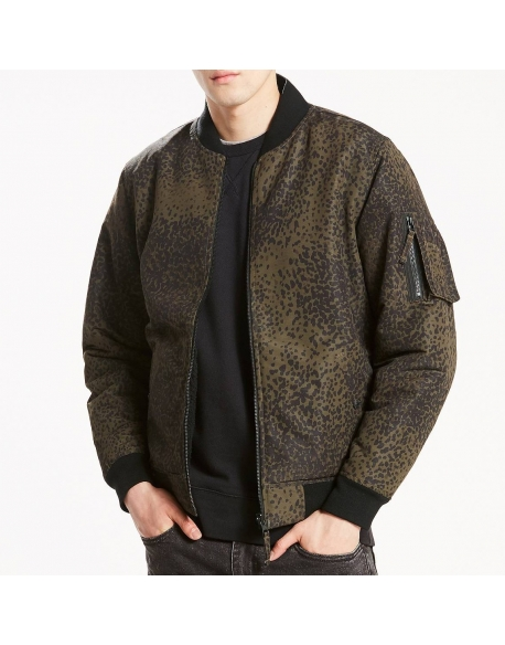 LEVIS REVERSIBLE MA1 BOMBER HONEY SUCKLE BITT