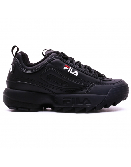 FILA DISRUPTOR LOW BLACK Homme