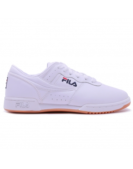 FILA ORIGINAL FITNESS MEN WHITE NAVY RED