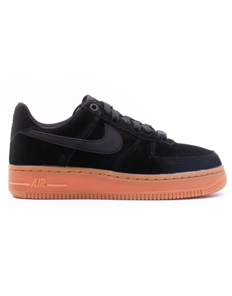 NIKE WOMEN'S AIR FORCE1'07 SE SHOE BLACK