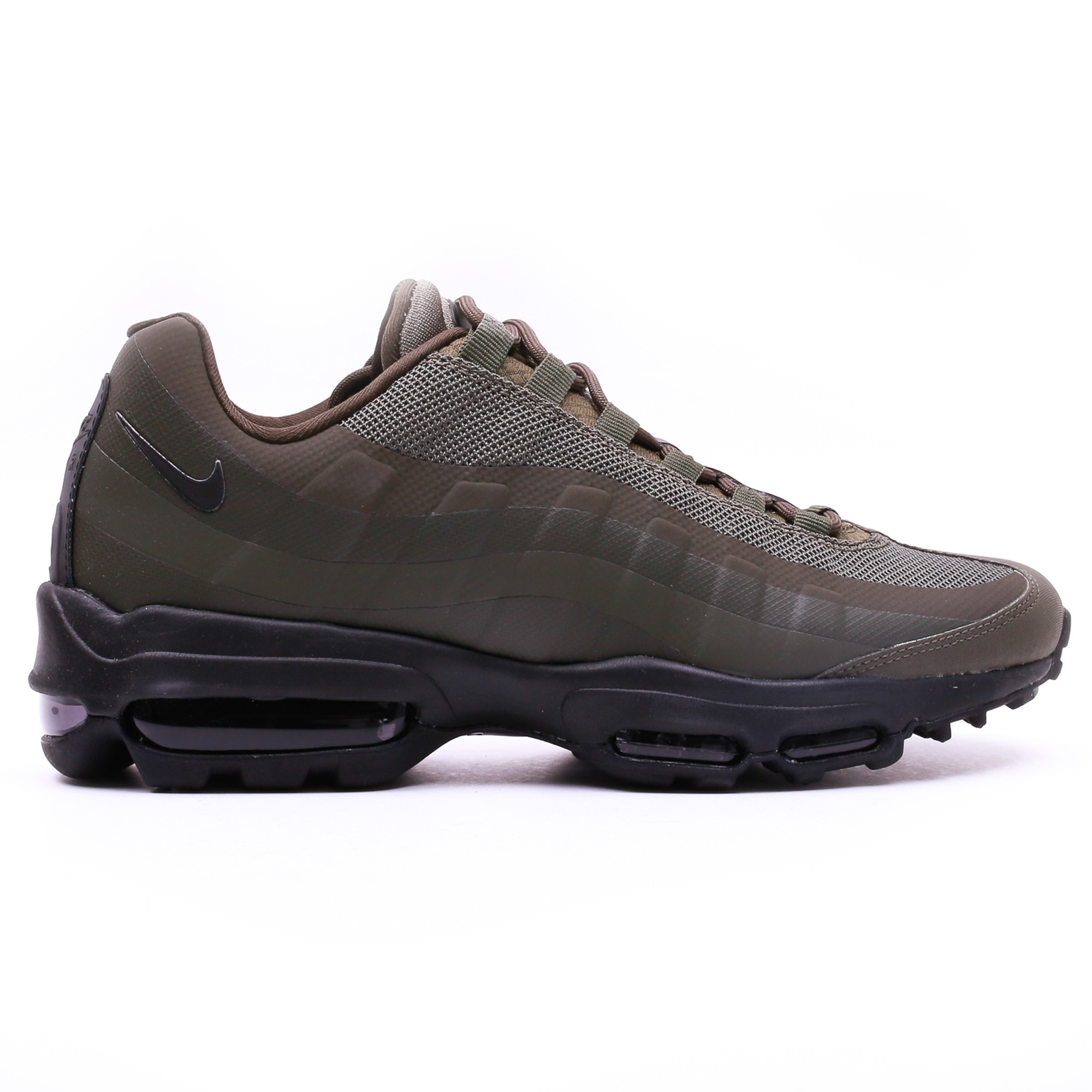 nike men 39 s air max 95 ultra essential shoe khaki slash store. Black Bedroom Furniture Sets. Home Design Ideas