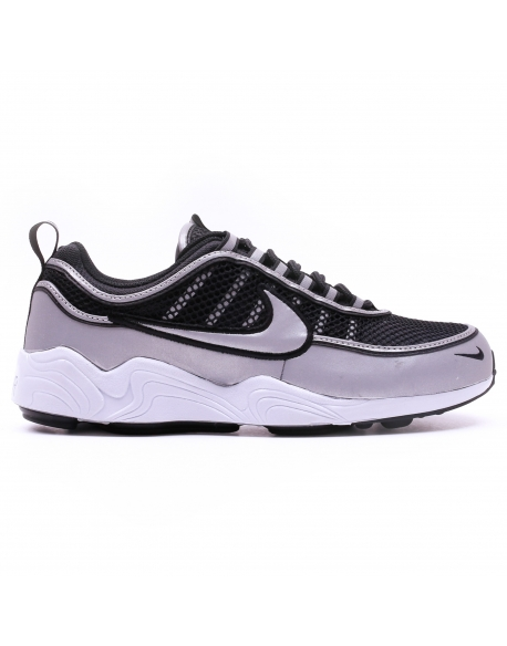 NIKE MEN'S AIR ZOOM SPIRIDON'16 SHOE BLACK SILVER