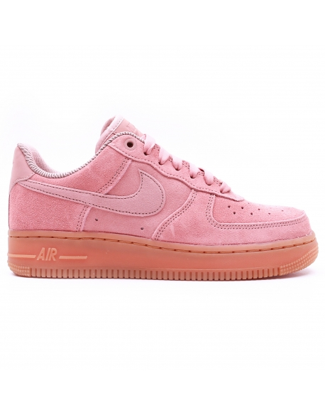 NIKE WOMEN'S AIR FORCE1'07 SE SHOE PINK