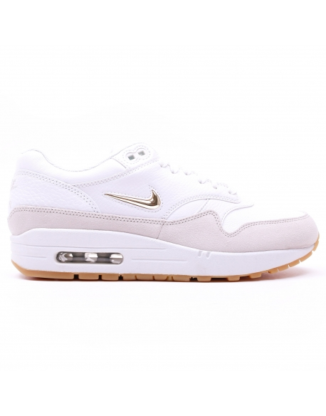NIKE WOMEN'S AIR MAX 1 PREMIUM SC WHITE