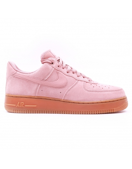 NIKE MEN'S AIR FORCE 1'07 LV8 SUEDE PINK