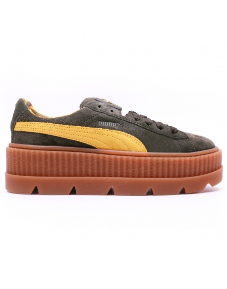 Puma Fenty x rihanna Cleated Creeper Rosin Lemon