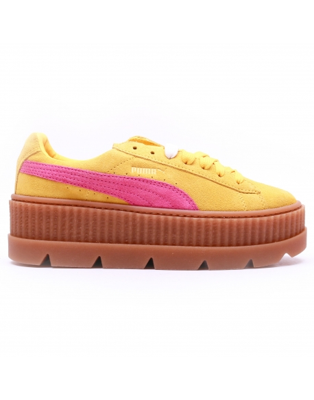 Puma Fenty x rihanna Cleated Creeper Lemon Carmin