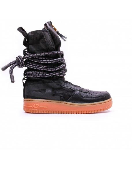 NIKE WOMEN'S AIR FORCE 1 HI BOOT BLACK