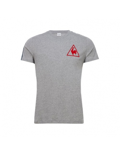 LE COQ SPORTIF TRI LF FOOTBALL TEE SS N°1 M LIGHT HEATH
