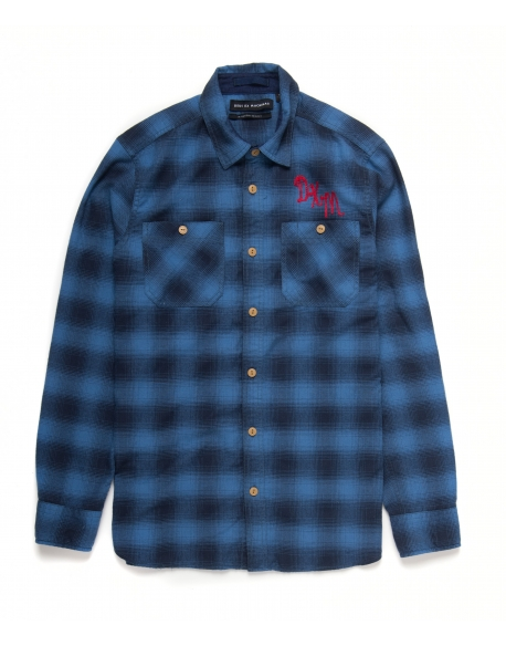 DEUS SERVICE FLANNEL CHECK SHIRT