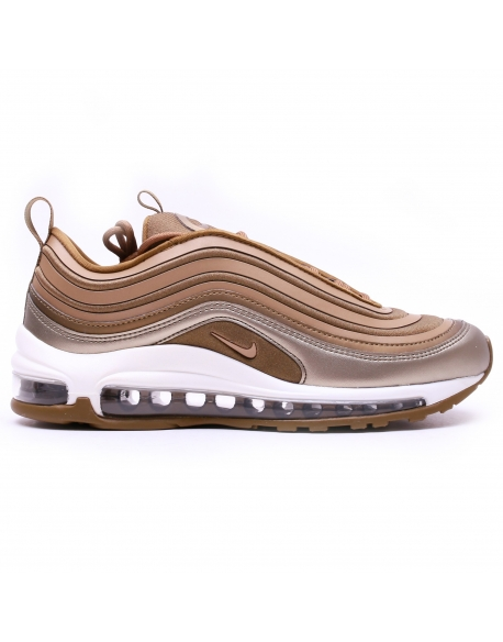 NIKE WOMEN'S AIR MAX '97 UL'17 SHOE MTLC FIELD