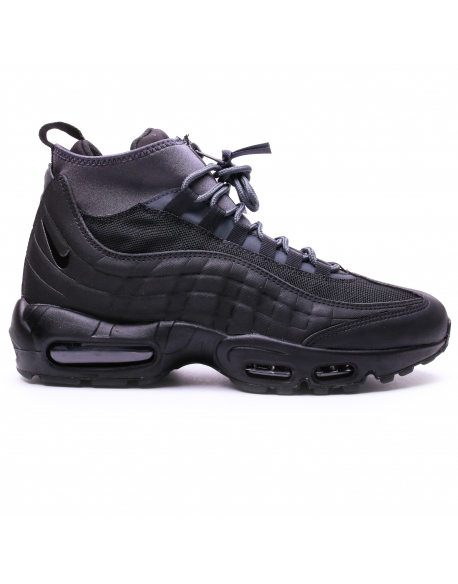 NIKE MEN'S AIR MAX 95 SNEAKERBOOT BLACK