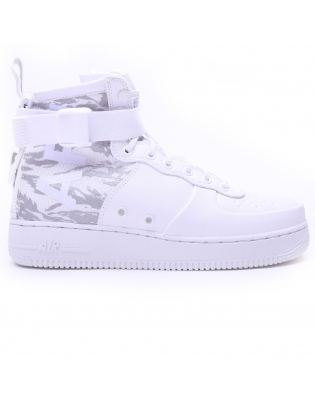 NIKE MEN'S SF AIR FORCE 1 MID WINTER BOOT WHITE