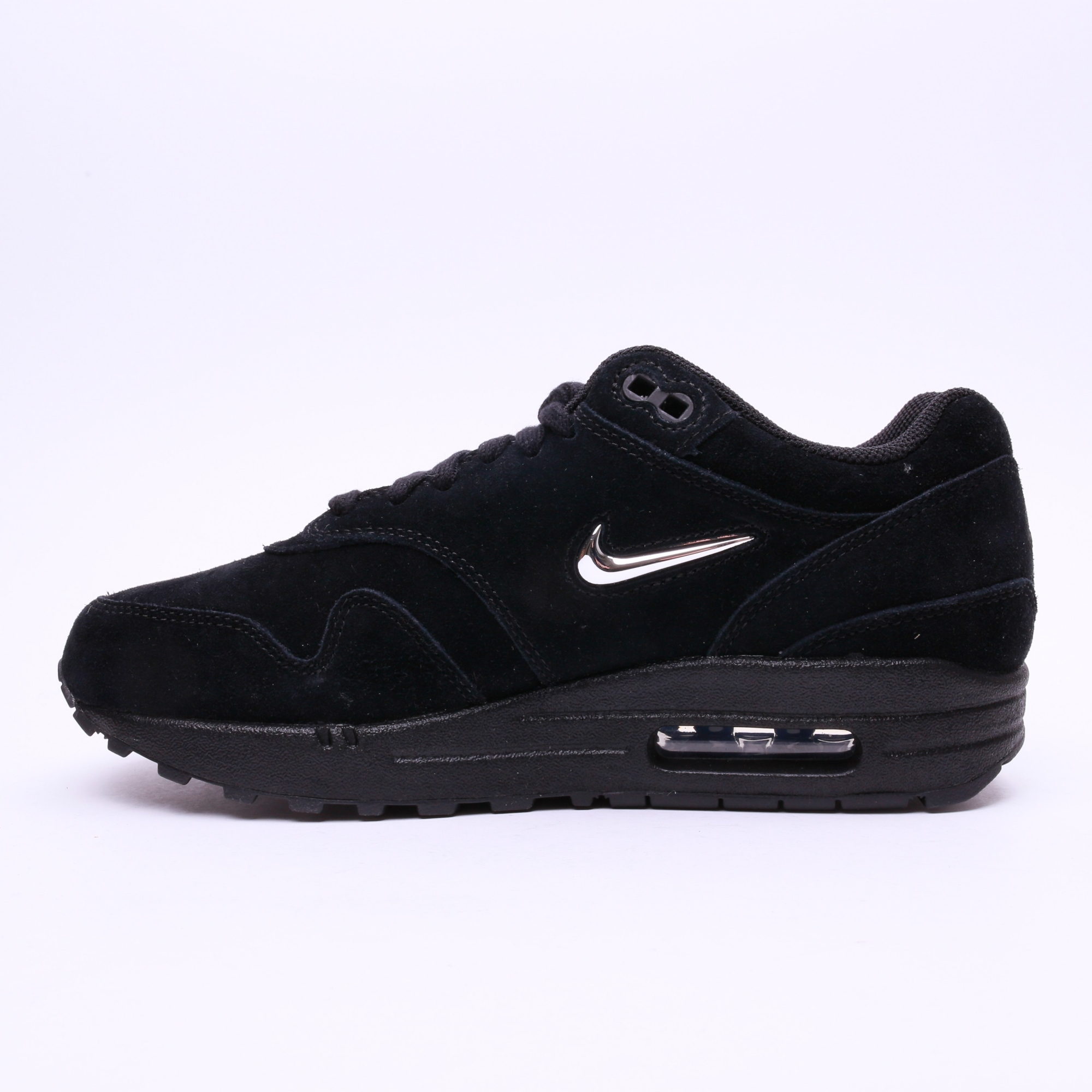 nike women 39 s air max 1 premium sc shoe black slash store. Black Bedroom Furniture Sets. Home Design Ideas