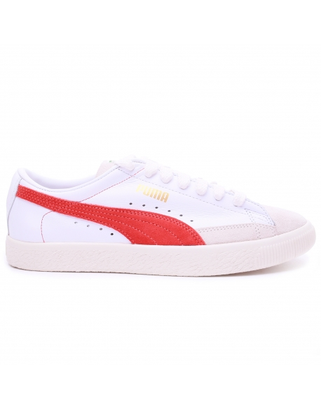 Puma Basket 90680 White Orange
