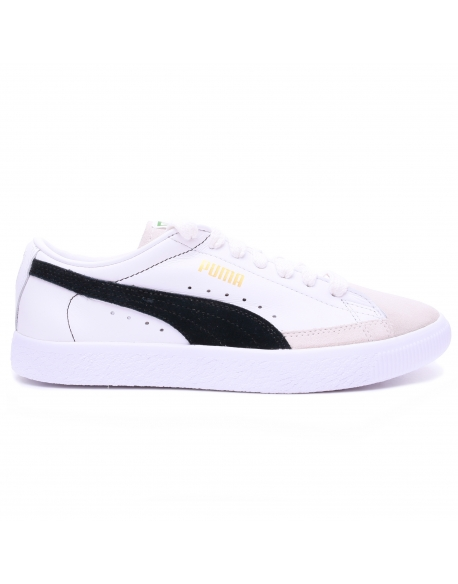 Puma BASKET 90680 White Black