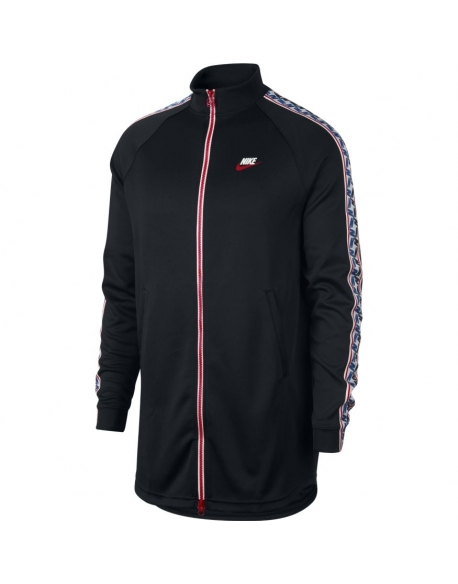 Nike Taped Track Jacket Poly Black
