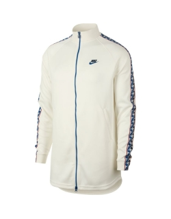 Nike Taped Track Jacket poly White