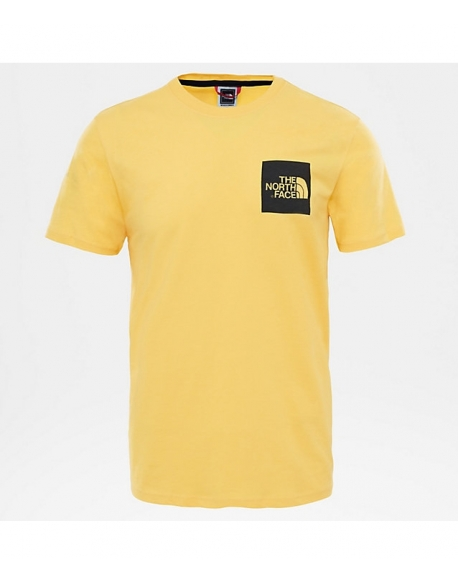 The North Face S/S FINE TEE YELLOW