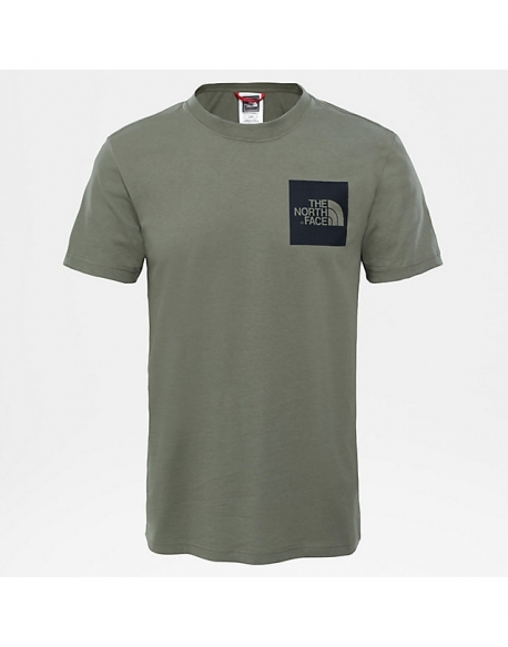 The North Face S/S FINE TEE DEEP LICH GREEN