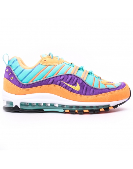 Nike Air Max 98 QS  CONE / TOUR YELLOW-HYPER GRAPE