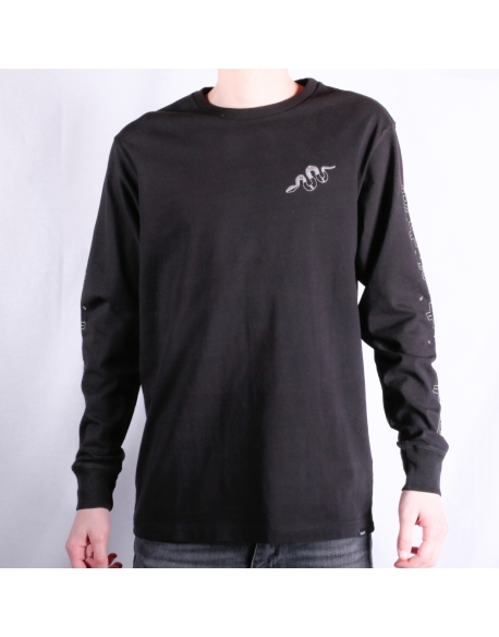 Deus BackTrack LS Tee Black