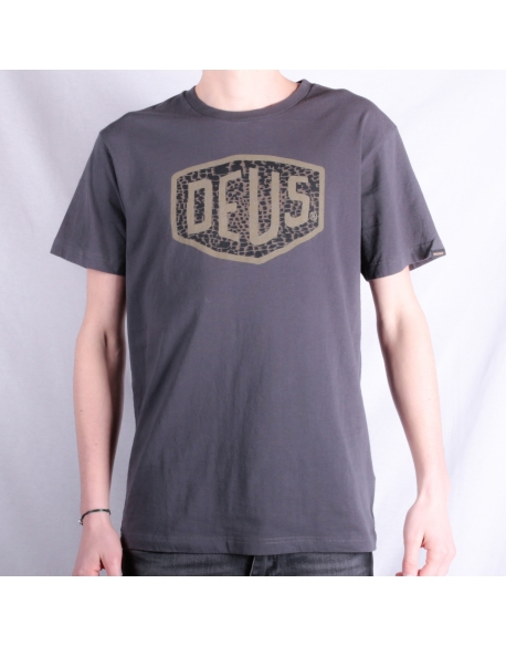 Deus Ventura Shield Tee Washed Black