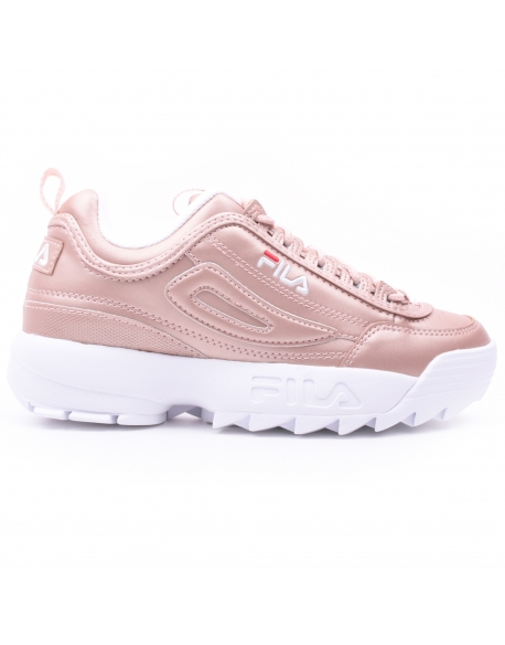 fila disruptor m low wmns rose gold slash store. Black Bedroom Furniture Sets. Home Design Ideas