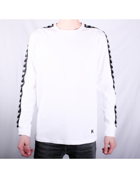 Kappa Kontroll Long Sleeve White