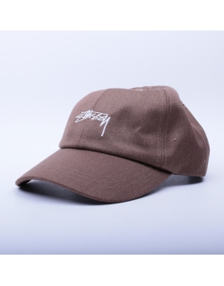Stussy Suiting Low Pro Cap Khaki