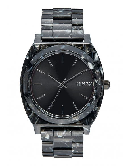 Nixon Time Teller Acetate Black Silver
