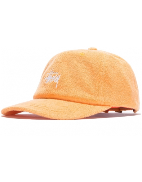 Stussy Stock Terry Cap Orange