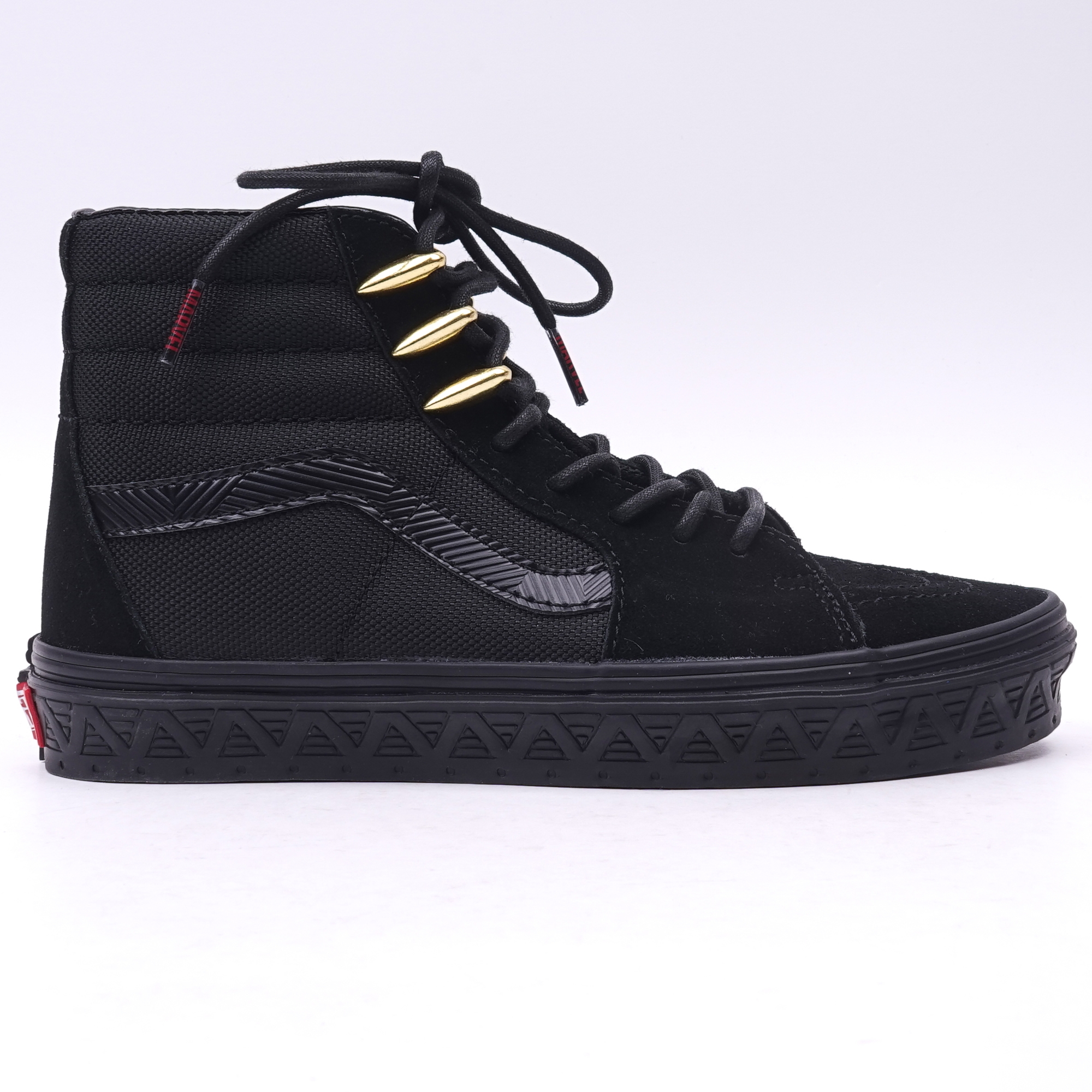 Vans Black Slash Panther Sk8 Hi X Marvel Store rCexWoEdQB